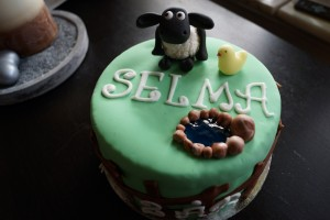 Selmas 2-årstårta