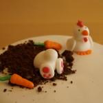 Kanin och tupp