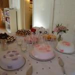 Mina första dekorerade tårtor