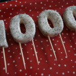 Siffror i sockerpasta