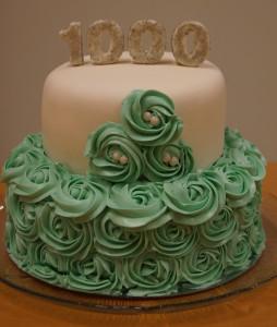 1000-tårtan