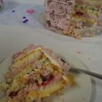 Tårtbit av rostårta