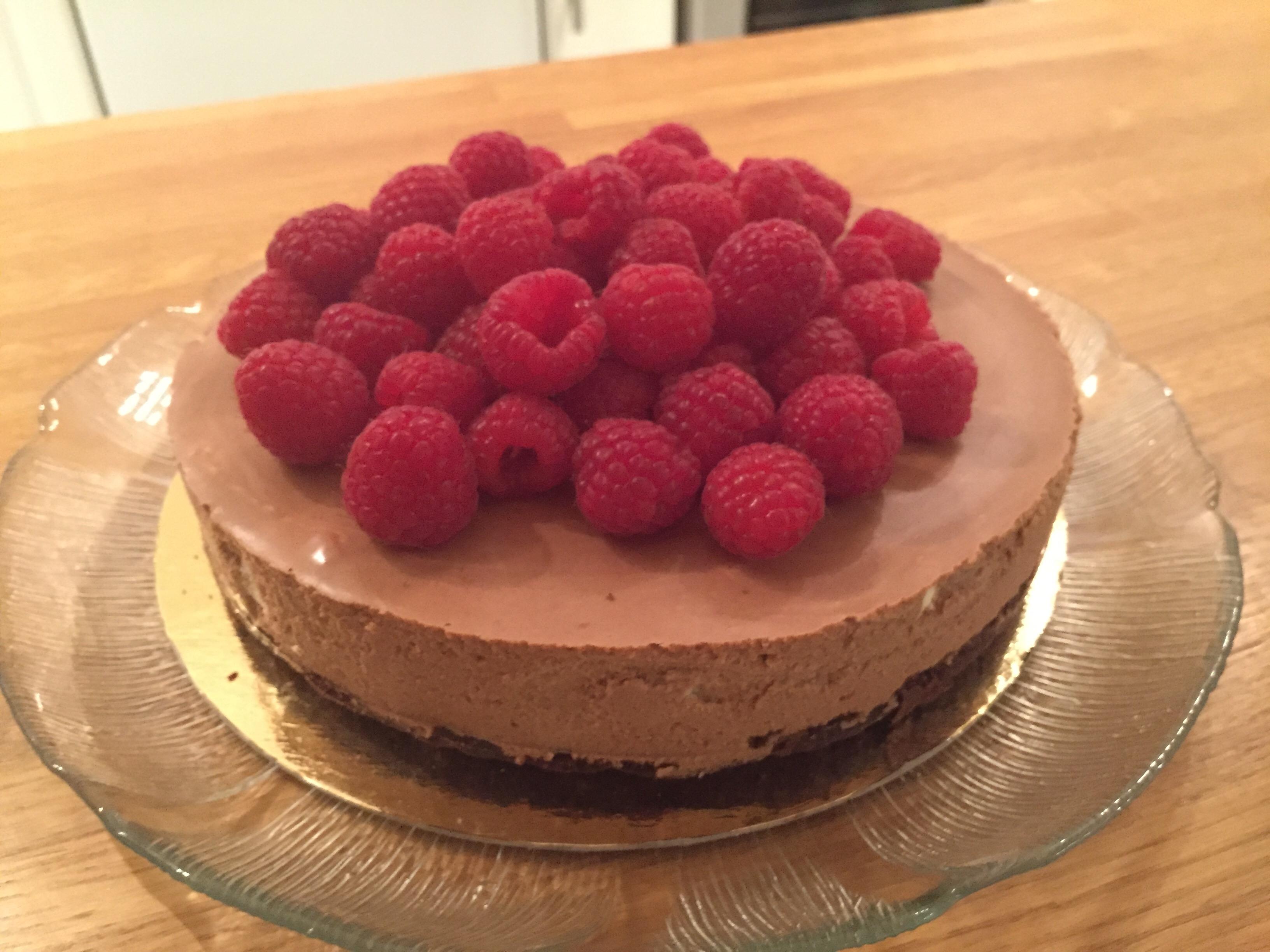 glutenfri tårta choklad