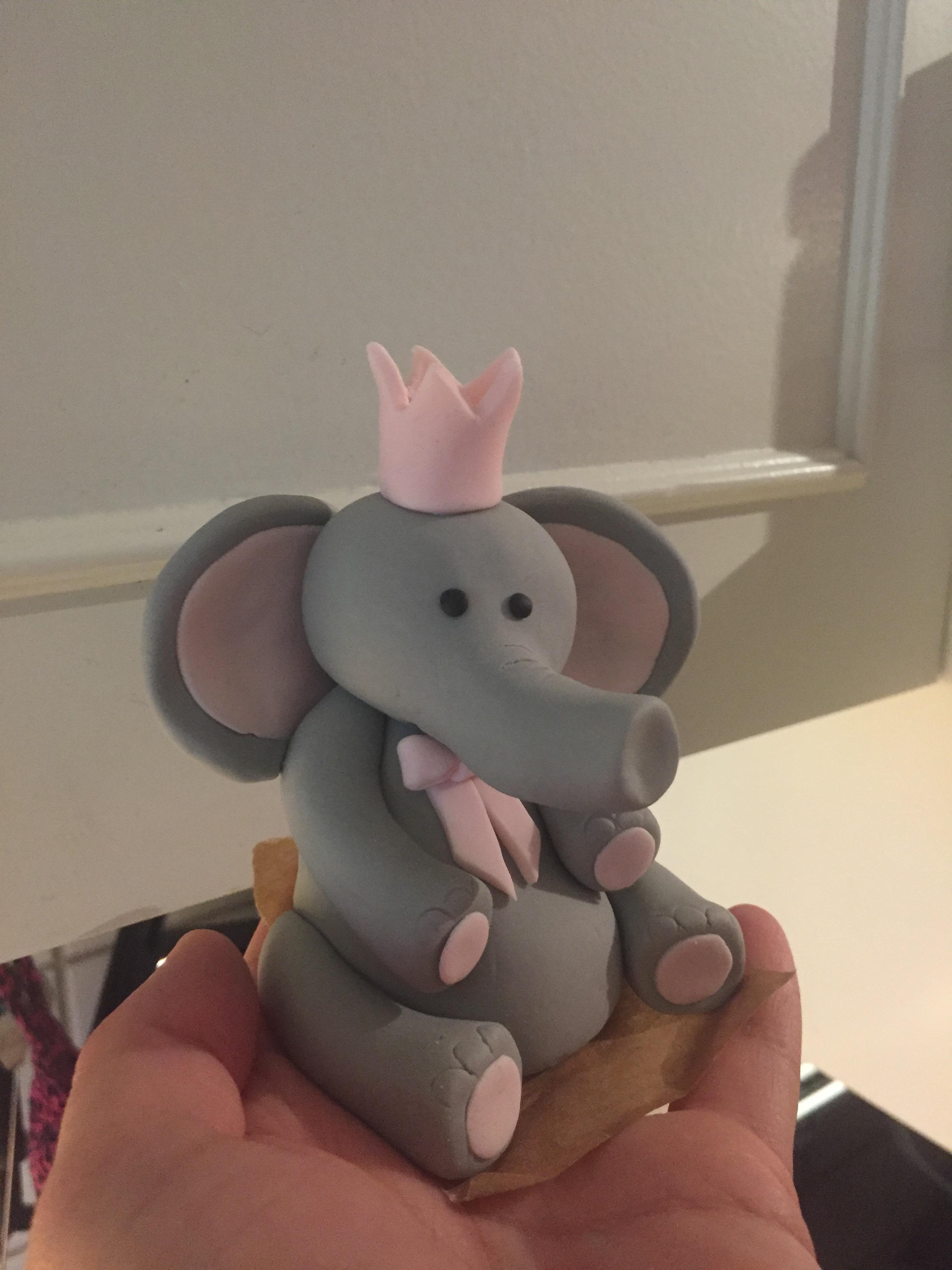 Elefant till Mollys dop