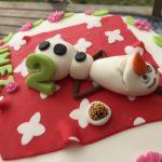 Inez 2-årstårta med Olaf