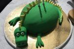 Bolibompadraken som tårta på Ellens födelsedag